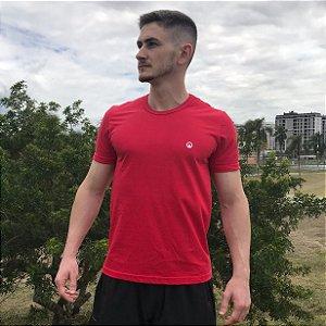 Camiseta Básica Algodão Premium CORTUBA - Vermelha