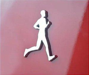 Adesivo Cromado Running Masculino
