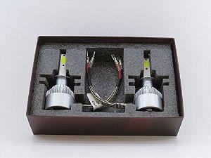 Lampada H3 8K - Super Led para Farol - Luz Branca Super Forte