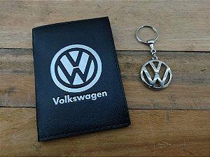 Kit Volkswagen - Chaveiro + Porta Documentos - DIA DOS PAIS