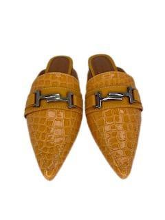Mules Gucci Croco