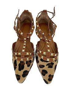 Sapatilhas Pointed Valentino Animal