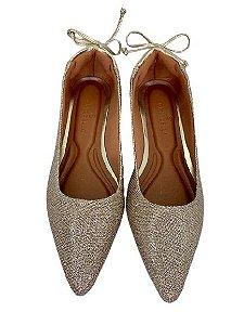 Sapatilhas Pointed Cinderela Glitter