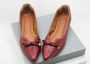 Pointed Vintage - Croco Vinho