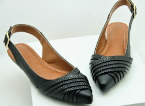 SlingBack Wave - Black