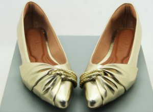 POINTED HALF LACE - GOLD