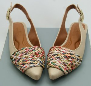 SLINGBACK CHORD - SAND RAINBOW COLORS