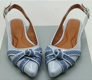 SLINGBACK NÓ TRIPLO - BLUE SOFT TONS