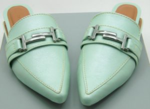 MULE GUCCI INSPIRED - GLOW GREEN