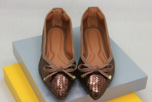 POINTED VINTAGE - BROWN SEQUIN