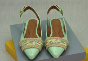 SLINGBACK CHORD - GREEN WATER