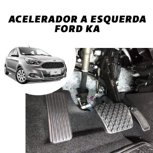 Acelerador Esquerdo - Ford Ka