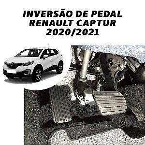 Inversão de Pedal - Renault Captur