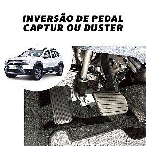 Inversão de pedal - Renault Duster