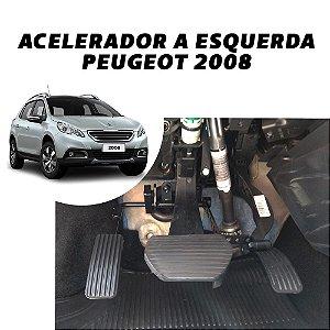 Inversão de pedal - Peugeot 2008