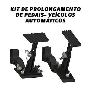 Kit De Prolongamento de Pedais - Câmbio Automático