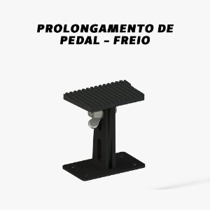 Prolongamento de pedal Freio (unidade) - Câmbio Automático