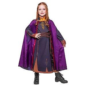 Fantasia Infantil - Disney - Frozen II - Anna - Luxo - Regina Festas