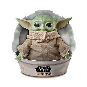 Pelúcia - 28 Cm - Disney - Star Wars - Baby Yoda - Mattel