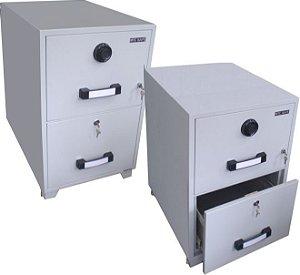 Arquivo Cofre Antifogo TB 4C 2D para guarda e proteção de documentos