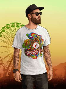 Camiseta Colors Masculina Mescla