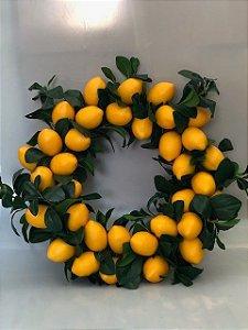 Guirlanda de limão siciliano