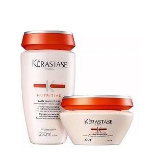 Kit Kérastase Nutritive Magistral - Shampoo 250ml + Máscara 200ml