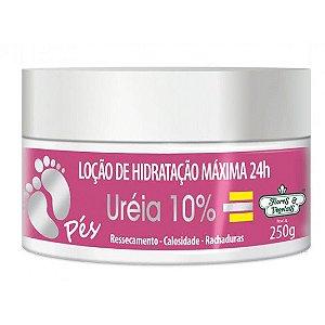 Flores & Vegetais - Loção de Hidratação Máxima Uréia 10% Pés 250g