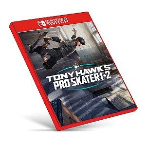 Tony Hawk's Pro Skater 1 + 2 - Nintendo Switch - Mídia Digital