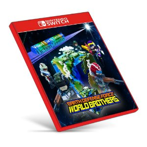 EARTH DEFENSE FORCE: WORLD BROTHERS - Nintendo Switch - Mídia Digital