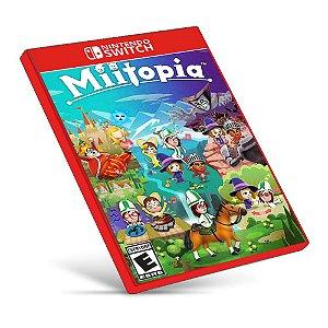 Miitopia - Nintendo Switch - Mídia Digital