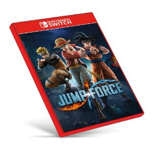 JUMP FORCE - Deluxe Edition - Nintendo Switch - Mídia Digital
