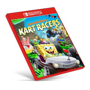 Nickelodeon Kart Racers - Nintendo Switch - Mídia Digital