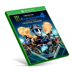 Monster Energy Supercross - The Official Videogame 4 - Xbox One - Mídia Digital