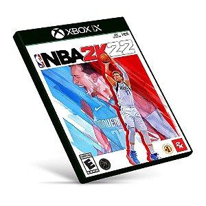 NBA 2K22 - Xbox Series X|S - Mídia Digital