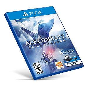 Ace Combat 7: Skies unknown - PS4 - Mídia Digital