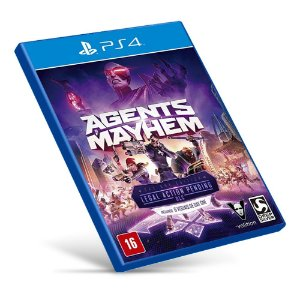 Agents of Mayhem - Ps4 - Mídia Digital