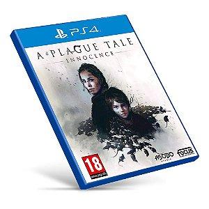 A Plague Tale: Innocence - PS4 - Mídia Digital