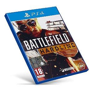 Battlefield Hardline - PS4 - Mídia Digital