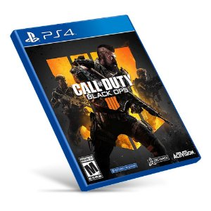 Call Of Duty: Black Ops 4 - PS4 - Mídia Digital