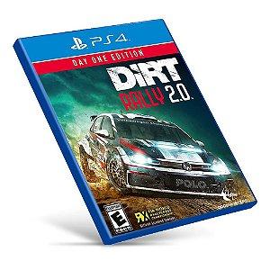 DiRT Rally 2.0 - PS4 - Mídia Digital