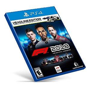 F1 2018 - PS4 - Mídia Digital