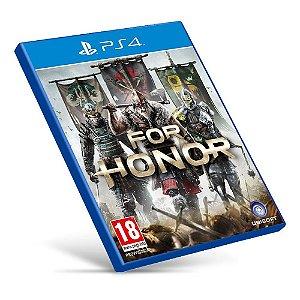 For Honor - PS4 - Mídia Digital