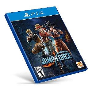 Jump Force - PS4 - Mídia Digital