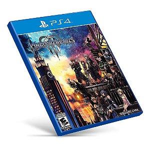 Kingdom Hearts III - PS4 - Mídia Digital