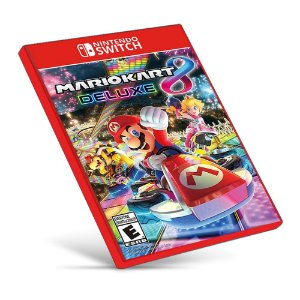 Mario Kart 8 Deluxe - Nintendo Switch - Mídia Digital
