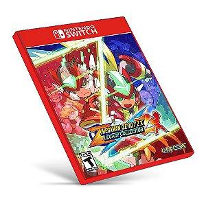 Mega Man Zero ZX Legacy Collection - Nintendo Switch - Mídia Digital