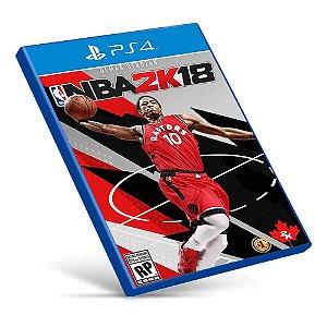 NBA 2K18 - Ps4 - Mídia Digital