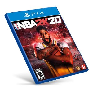 NBA 2K20 - PS4 - Mídia Digital