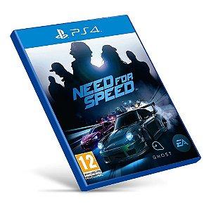 Need For Speed - PS4 - Mídia Digital